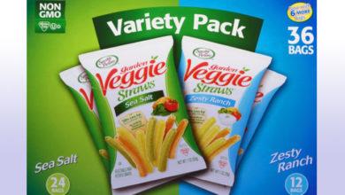 garden veggie straws variety pack