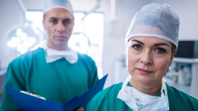 doctors in operating room
