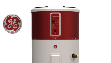 Photo of GE Geospring Hybrid Water Heaters