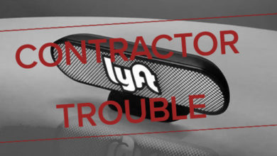 Lyft Contractor Trouble