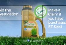 Photo of Scotts EZ Seed Product Investigation