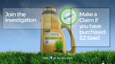 Photo of Scotts EZ Seed Product Investigation